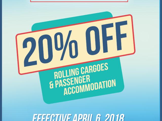 JCO 20 percent discount