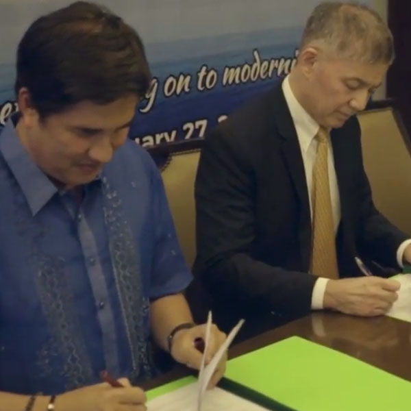 RCBC and FASTCAT CONTRACT SIGNING