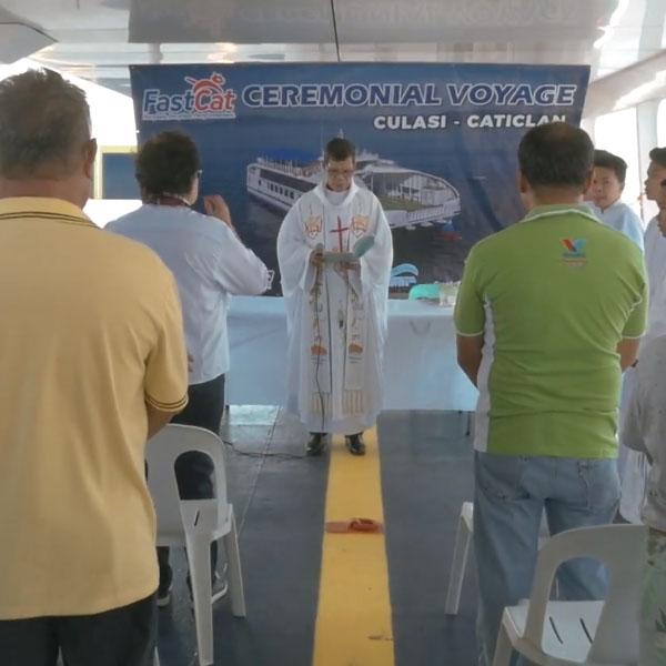 FastCat Culasi Ceremonial Voyage