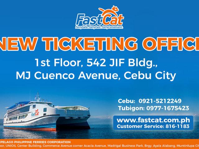 New Cebu Ticketing Address