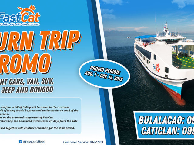 Return Trip Promo 2 x 1 meters