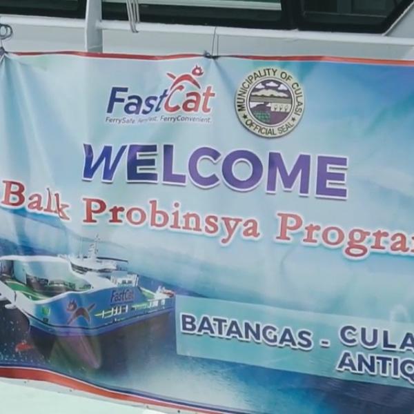 Antique Balik Probinsya Program Last Voyage